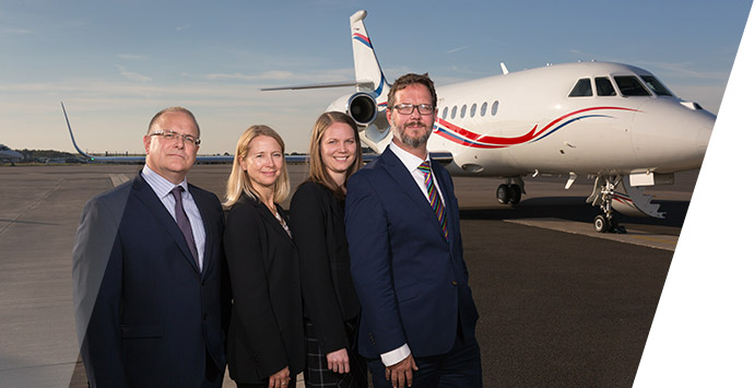 Image of Pula Aviation acquiring Centreline