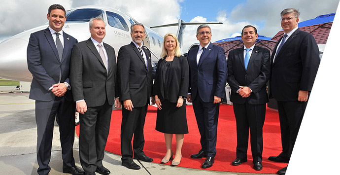 Image of Embraer selling Legacy 500 to Centreline