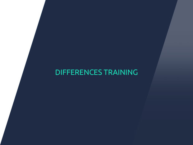 Image of differences training